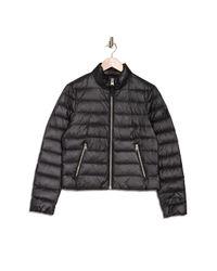 Mackage Black Mikka Zip Puffer Jacket