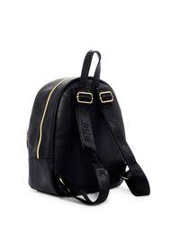 Betsey Johnson - Black Turn Lock Printed Backpack - Lyst