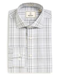 Todd Snyder | Gray Plaid Trim Fit Dress Shirt for Men | Lyst