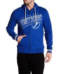 Mitchell & Ness   Blue Nhl Lightning Hooded Full Zip Jacket for Men   Lyst