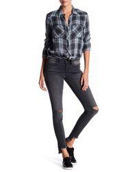 William Rast - Blue Raw Step Hem Perfect Skinny Jeans - Lyst