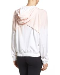 Zella | White Style Game Training Jacket | Lyst