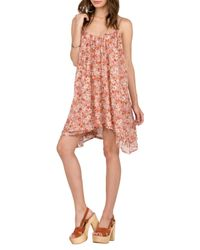 Volcom - Multicolor Laying Low Print Swing Dress - Lyst