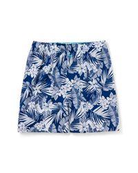 Tommy Bahama Blue Floral Leaves Boxer for men