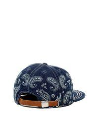 True Religion - Blue Bandana Baseball Cap for Men - Lyst