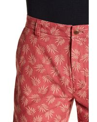 Grayers - Red Palm Leaf Shorts for Men - Lyst