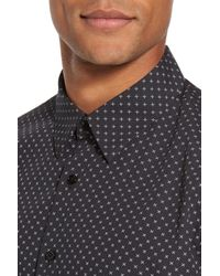 Theory - Multicolor Stitch Print Sport Shirt for Men - Lyst