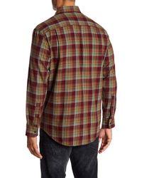 Pendleton - Multicolor Bridger Twill Plaid Regular Fit Shirt for Men - Lyst