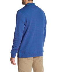 Robert Graham - Blue Palmiro Waffle-knit Jacket for Men - Lyst