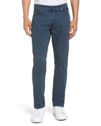 PAIGE - Blue Lennox Slim Fit Five-pocket Pants for Men - Lyst