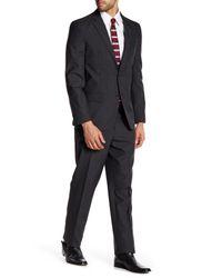 Ben Sherman - Multicolor Ben Plaid Two Button Notch Lapel Suit for Men - Lyst