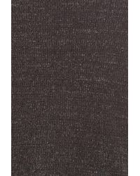Sejour - Gray Scallop Hem Sweater (plus Size) - Lyst