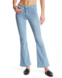 PAIGE Blue Bell Canyon High Waist Flare Jean (petite)