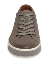 Johnston & Murphy Gray Allister Sneaker for men