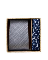 Original Penguin - Blue Corrado Solid 2-piece Tie Box Set for Men - Lyst