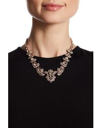 Givenchy | Black Crystal Accented Collar Necklace | Lyst