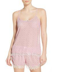 Honeydew Intimates | Pink Chiffon Pajamas | Lyst