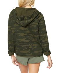 Sanctuary - Green Roadtripper Camo Hoodie - Lyst