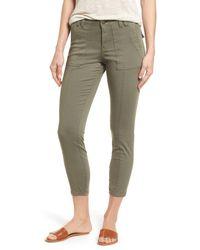 Caslon Green (r) Crop Utility Pants (regular & Petite)