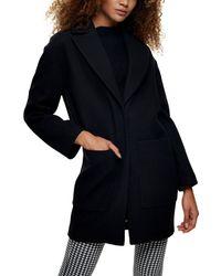 Reiss Black Mila Ombre Pleated Midi Skirt