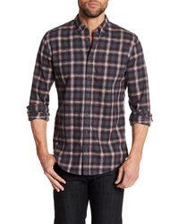 BOSS Multicolor Edipoe Plaid Slim Fit Shirt for men