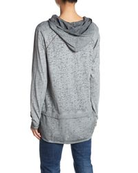 Jag Jeans Gray Magna Knit Hoodie