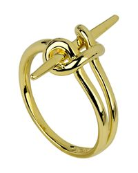 Noir Jewelry - Metallic Cape Cod Knotted Ring - Lyst