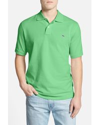 Vineyard Vines - Green Classic Pique Knit Polo for Men - Lyst