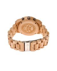 Earth Wood | Metallic Men's Castillo Bracelet Watch for Men | Lyst