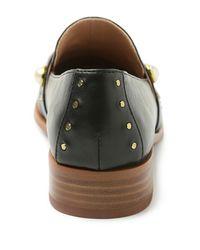 Kensie Black Gareth Studded Loafer