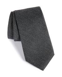 Calibrate - Black Resolution Silk Blend Tie for Men - Lyst