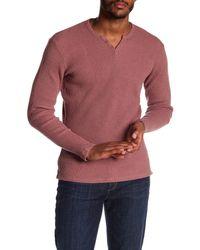 Joe's Jeans - Multicolor Wintz Long Sleeve Waffle Henley for Men - Lyst