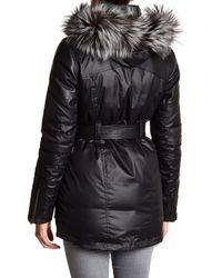 Spyder - Black Dulce Genuine Fox Fur Trim Hoodie - Lyst