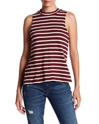 Billabong - Red Your Eyes Turtle Tank - Lyst
