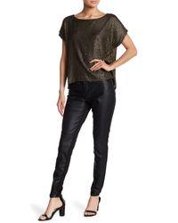 Jack BB Dakota - Black Faux Leather Style Pants - Lyst