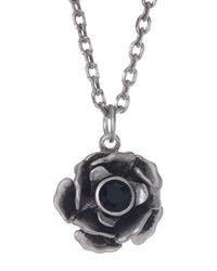Marc Jacobs - Metallic Small Flower Pendant Necklace - Lyst