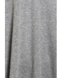 Halogen - Gray Cashmere Poncho - Lyst