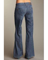 Level 99 - Blue Newport Wide Leg Jean - Lyst