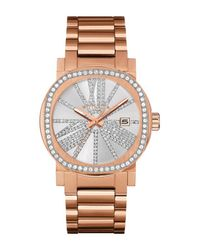 Bulova Metallic Women's Adele Crystal Bracelet Watch, 36mm