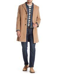 Tommy Hilfiger Brown Coat, Barnes Double-button for men