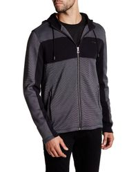 Calvin Klein | Black Knit Zip Jacket for Men | Lyst