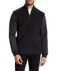 Calvin Klein Jeans | Multicolor Ottoman Tube Terry 1/4 Zip-up Sweater for Men | Lyst