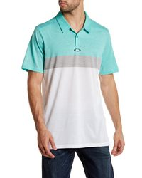 Oakley | Blue Anderson Polo Shirt for Men | Lyst