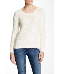 Joie White Anias Long Sleeve Sweater