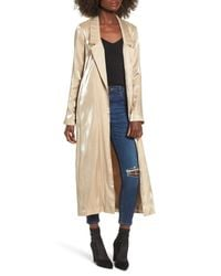 Lovers + Friends Natural Jackson Duster