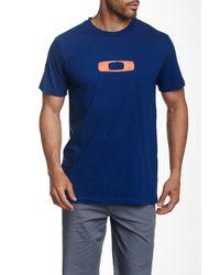 Oakley - Blue Steeze Tee for Men - Lyst
