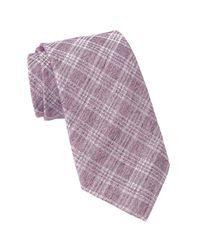 John Varvatos - Purple Wide Tie for Men - Lyst