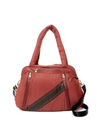 Cynthia Rowley Red Alex Duffle Bag