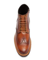 Kenneth Cole - Brown Design 10765 Leather Chelsea Boot for Men - Lyst
