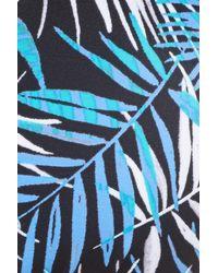 Blush By Profile - Blue Desert Palm Bikini Top - Lyst